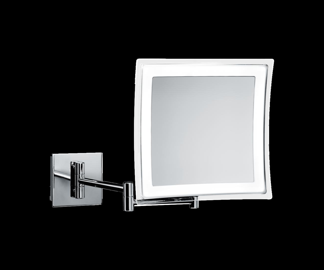 Miroir cosm tique avec clairage bs 85 decor walther for Miroir avec eclairage
