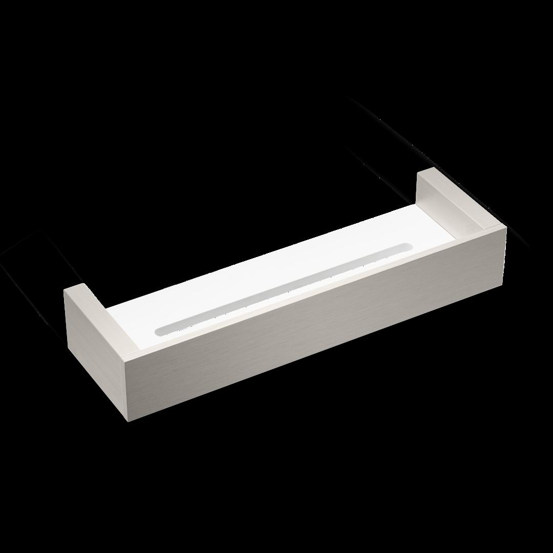 Mensole In Vetro Bianco.Mensola Doccia Bk Da30 Decor Walther